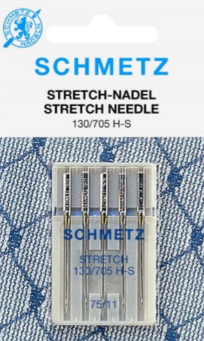 SZS SEWINGMACHINE NEEDLES STRETCH - CARD 5 PC SEWINGMACHINE NEEDLES STRETCH - CARD 5 PC SZS