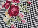 59999 FABRIC 1.50MTR - 100% POLYESTER - CHECKED / FLOWERS FABRIC 1.50MTR - 100% POLYESTER - CHECKED / FLOWERS 59999