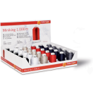 G799696-1 DISPLAY MINIKING 30 cones Miniking 1.000 m in 6 colours G799696