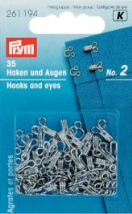 P261194 HOOKS AND EYES STAINL. STEEL 2 SILVER COL 35 ST HOOKS AND EYES STAINL. STEEL 2 SILVER COL 35 ST 261194_VS.jpg