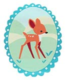 WL60006 MOTIF BAMBI - IRON ON 60MM x 80MM Individually packed e2b4fc6760a486ee153443d8d43500d0.JPG
