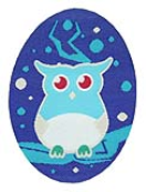 WL60011 MOTIF SMALL OWL - IRON ON 40MM x 57MM Individually packed 592dd15df81f1b57591a7d9781a2b13c.JPG