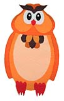 WL60012 MOTIF SMALL OWL - IRON ON 35MM x 60MM Individually packed 3833ef97d027409792868079d274e3d2.JPG