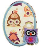 WL60015 MOTIF SMALL OWLS - IRON ON 65MM x 90MM Individually packed f2e0e3c66a7457902a7108015b13547f.JPG